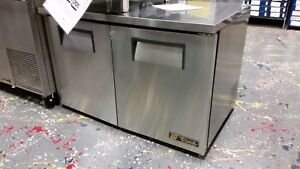 True Tuc 48f lp hc Undercounter Low Profile Solid Door Freezer
