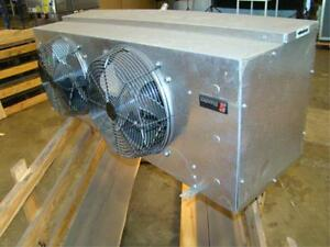 New Master bilt 2 Fan Evaporator 3ph Walk In