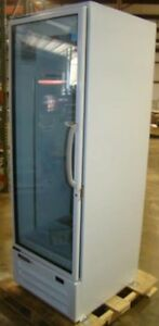 New Master bilt Single Door Refrigerator White Merchandiser