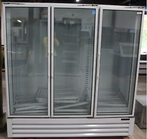 New Master bilt Three Door Refrigerated Merchandiser