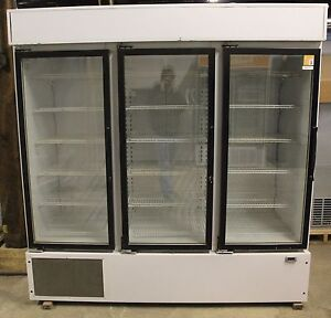 Three Door Refrigerated Merchandiser Master bilt
