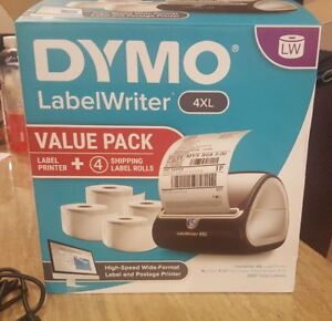 Dymo Labelwriter 4xl Label Thermal Printer Value Pack