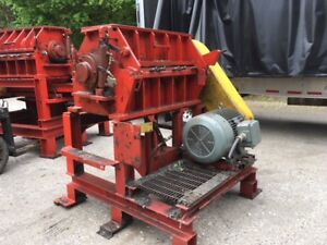Cimp Model N12 Scrap Plastic Rubber Granulator Grinder Shredder 100 Hp