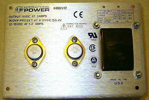 International Power Regulated Linear Power Supply 5v Dc 3a 12vdc 1 2a ihbb512