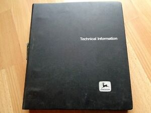 John Deere 1530 Tractor Factory Technical Repair Manual In Binder Tm4280