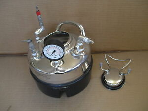 Millipore Corp Cat No Xx6700p01 Pressure Tank Pot Vessel Lab 1 Gallon 100 Psi