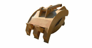 New 36 Heavy Duty Excavator Grapple For Cat 318f