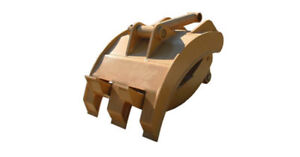 New 36 Heavy Duty Excavator Grapple For Cat 312