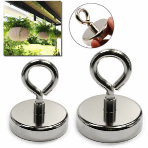 Peggie Recovery Magnet Hook Strong Sea Fishing Diving Treasure Hunting Eyebolt