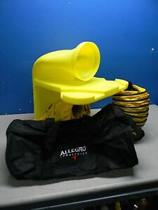 Allegro Axial Blower Kit With Manhole Ventilation Passthru Ducting Storage Bag