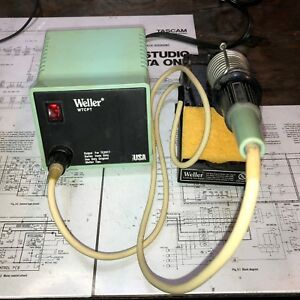 Weller Wtcpt Soldering Station Pu120t Base Tc201t Pencil And Stand