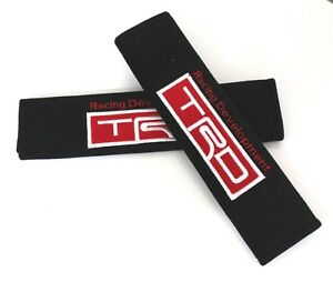 X2 Universal Trd Racing Development Fabric Seat Belt Cover Shoulder Pads Cover