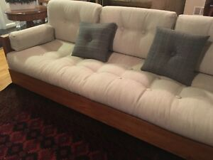 Mid Century Modern Howard Sofa And Lounge Chair With Ottoman