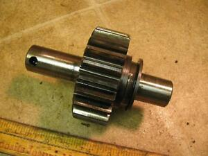 Minneapolis Moline Mm M670 Gas Tractor Transmission Reverse Idler Gear And Shaft