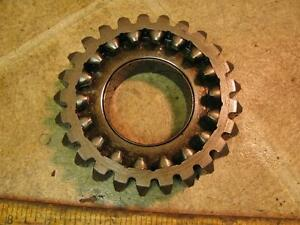 Minneapolis Moline Mm M670 Gas Tractor Top Transmission 25 Tooth Gear