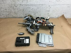 Infiniti G35 X Ecm Ecu Bcu Steering Column Ignition Key 2005 2006 2007