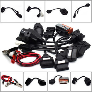 8pcs Obd Obdii Cables For Cdp Tcs Hd Pro Cars Diagnostic Interface Scanner Valid