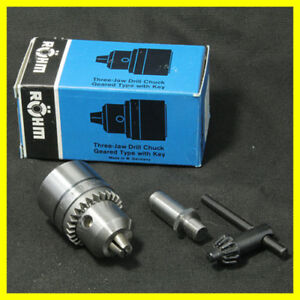 Nos 5 16 Rohm Drill Chuck For Sherline Lathe With 1 Arbor For Lathe Or Mill