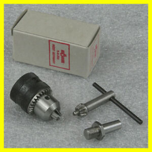 1 4 Rohm Drill Chuck With 0 Arbor For For Sherline Lathe Tailstock Mount