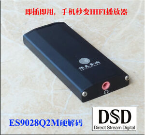 Se4 Computer Usb Decoder Dac Independent Es9028 Decode Dsd Support