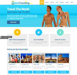 Established Profitable Fully Automated Travel Website Online Business For Sale