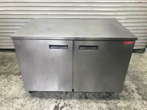 2 Door Under Counter Cooler Delfield 348p 8259 Commercial Refrigerator Nsf Usa