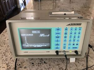 Sonomed A scan 2500 Ophthalmic Ultrasound Machine Ophthalmology