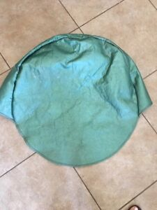 1950 S Vintage Spare Tire Cover Dodge Plymouth Mopar Green Pearl Rat Rod