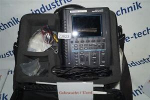 Tektronix Ths720a Handheld Oscilloscope 100 Mhz Canal 500 Mss