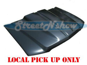 03 05 Chevy Silverado Truck 2 Cowl Induction Hood Steel Cowl