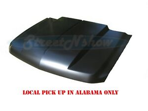 07 13 Chevy Silverado Truck 2 Cowl Induction Hood Steel Cowl
