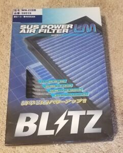 Blitz Sus Air Filter R35 Gtr Single K n