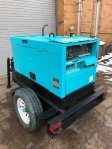 Multiquip Whisperweld Dlw 300es 300 Amp Diesel Engine driven Welder Generator