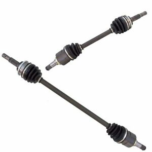 Front Cv Axle Shaft Assembly Lh Rh Pair 2pc Set New For Toyota Tercel Paseo