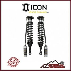 Icon Remote Reservoir Cdcv Front Coilover Kit For 2007 2018 Toyota Tundra