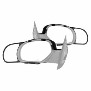 K source 80900 Towing Mirror Extension Snap on Only Set Of 2 For Chevy Tahoe