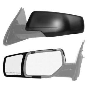 K source 80920 Towing Mirror Extension Snap on Only Set Of 2 For Chevy Tahoe
