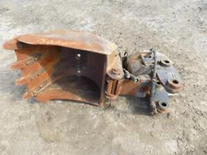 Helac 22 Wrist o twist Tooth Bucket Came Off A Cat 305 Mini Excavator S 114502