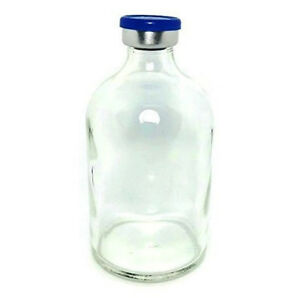 100ml Sterile Clear Glass Vial Qty 100 Free Shipping