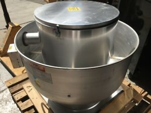 New Exhaust Fan Blower For Restaurant Grease Hood Captiveaire Nca14hpfa 7887