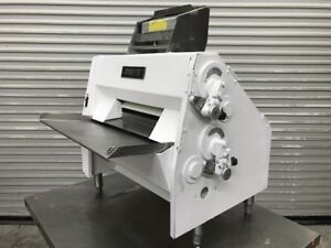 Dough Roller Sheeter Double Pass Through Anets Sdr21 8309 Rolling Machine