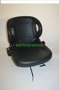 New Molded Forklift Seat With Seatbelt Switch For Toyota
