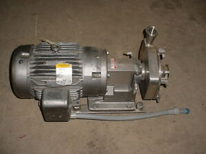 Fristam Fp7320010971 S8043 Centrifugal Stainless Steel Ss Pump 15 Hp 1 75 2 25