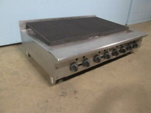 vulcan hart Vacb47 Hd Commercial nsf 46 Nat Gas Radiant Char Broiler grill