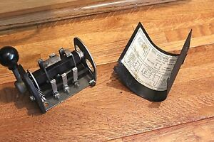 Brown Electric Drum Switch For rev Lathe Mill Atlas Craftsman Logan South Bend