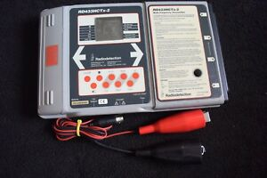 Radiodetection Model Rd433hctx 2 Transmitter With Leads Locator Rd4000