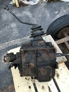 Muncie Sm465 1 Ton Transmission 4 Speed From 1981 Chevy 1 Ton