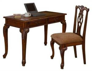 2 piece Office And Home Desk Set fairfax Wooden Table id 2262903