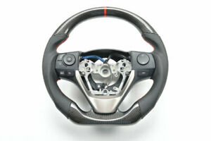 Carbon Fiber Steering Wheel For Toyota Camry Corolla Rav4 Highlander Reiz Gt86