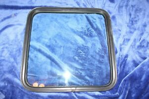 87 91 Ford E150 E250 Conversion Van Rh Side Door Glass Window W Seal Nice Oem